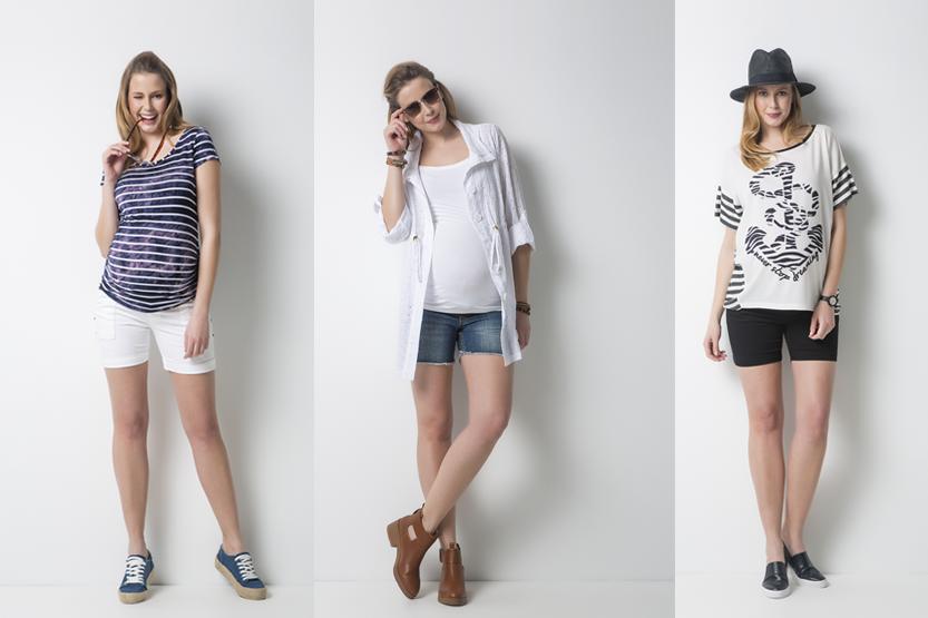 Yaz Aylarının Kurtarıcı Kıyafeti Hamile Şort Modelleri!